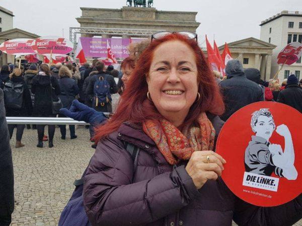 """MdB Sylvia Gabelmann besucht """"Alternative Lebensräume für Frauen"""" (alf) in Siegen"""