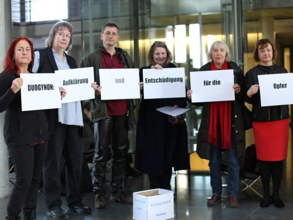 900 Unterschriften für »Duogynon«-Opfer