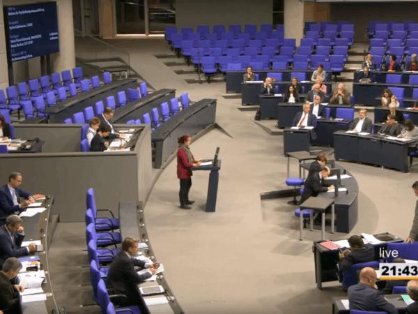 Bundestagsrede MdB Gabelmann: Reform der Psychotherapeutenausbildung kommt Jahre zu spät
