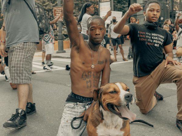 Black lives matter – Linke unterstützt Proteste gegen Polizeigewalt und Rassismus